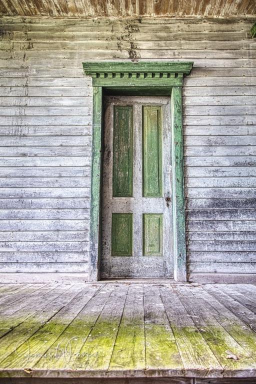 Fayette Hotel Door