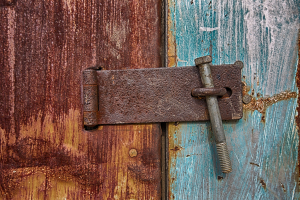 Chicken Coop Hasp
