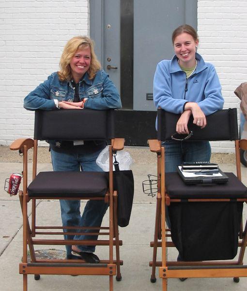 Karyn Kozo and Jennifer Parker
