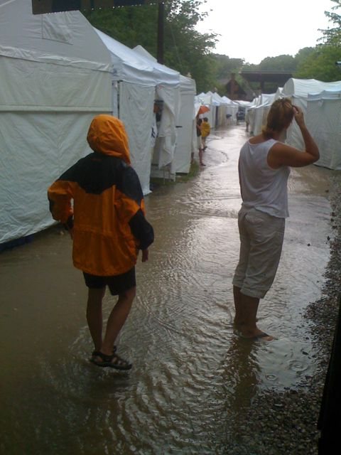 Cain Park Rain