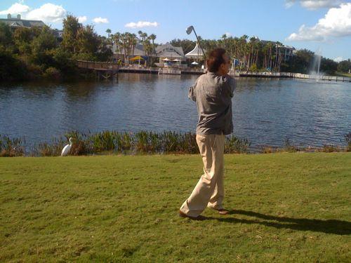 Steve B. golfing at Grande Vista