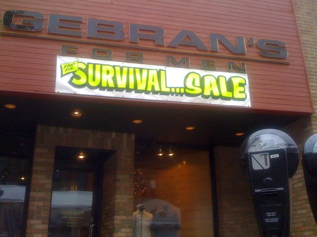 Survival Sale