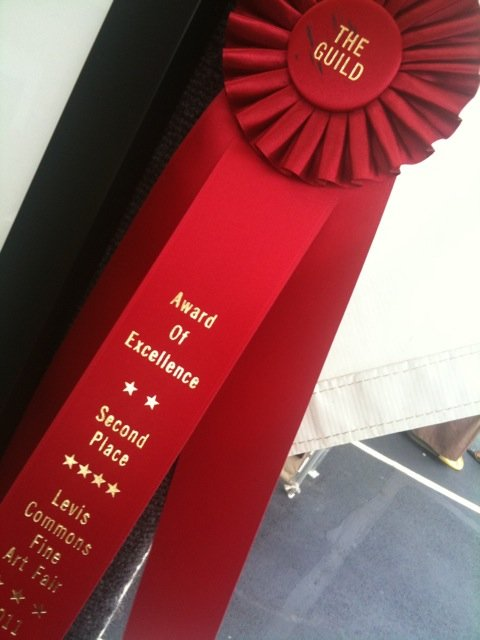 Award of Excellence, Levis Commons Fine Art Festival 2011