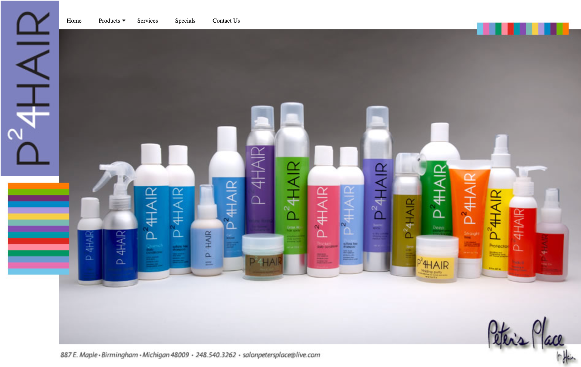 p24hair product lineup